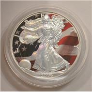 СВОБОДА серебро ГОЛОГРАММА 1$ США 2006