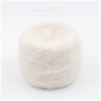 Пряжа Fluffy, Белый,265м/50г, Lama Lima