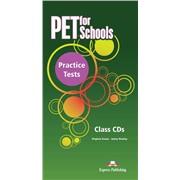 pet for schools practice tests  class cd - диски для занятий в классе(set 5)