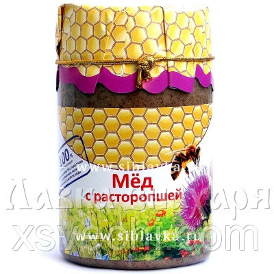 Мед с расторопшей