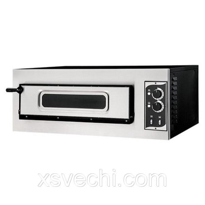 Печь для пиццы Gemlux GEP 1/50 VETRO, 50-500°С