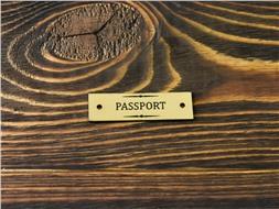 Шильдик пластиковый Passport 4