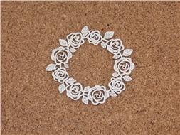 Рамка из роз