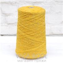 Пряжа Твид-мохер Лимонная капля 2629, 110м/50гр. Knoll Yarns, Mohair Tweed, Lemon Drop