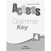 access 4 grammar book key