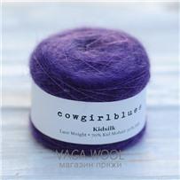 Пряжа Kidsilk solid Фиолет, 225м/25г, Cowgirlblues, Violet
