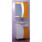 Набор зеркальный шкафик с подсветкой 55 и тумба с мойкой 55