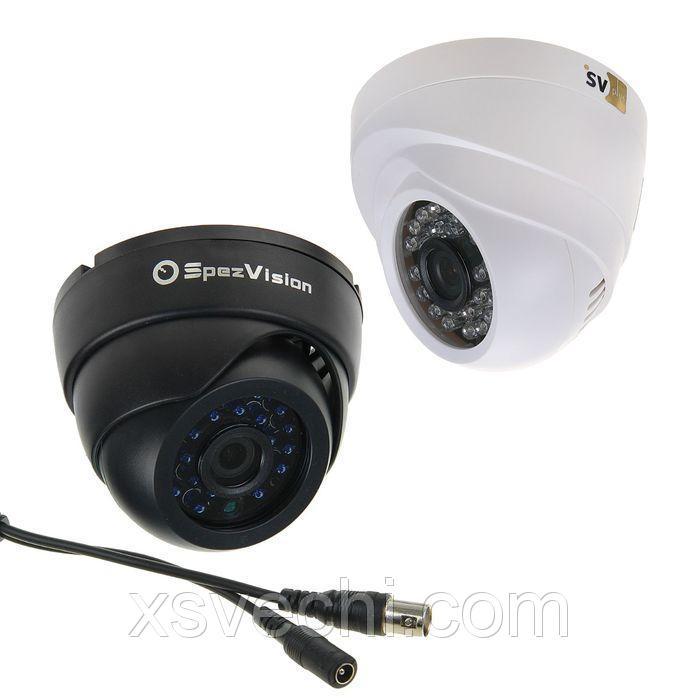 Муляж купольной камеры с ИК подсветкой М-107 B/W