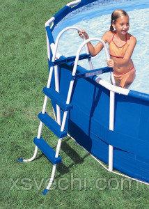 Лестница для бассейна Intex 28060   58972, 91 см