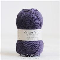 Пряжа Lamauld Лиловый 6134, 100м/50г, CaMaRose, Lyslilla