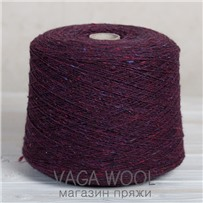 Пряжа Твид-мохер Клен 2712, 200м/50гр.  Knoll Yarns, Mohair Tweed, Maple