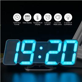 li&tai Электронные многоцветные RGB часы li&tai SLT-9001 (white)