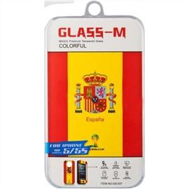 Защитное стекло для iPhone 5/5S/5C Tempered Glass M Испания
