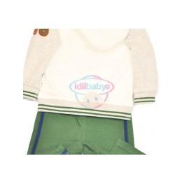 Комплект для мальчика (штаны и толстовка с капюшоном)