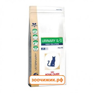 Сухой корм Royal Canin Urinary S/O LP34 для кошек (МКБ) (400 гр)