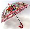 Зонт детский полуавтомат Куклы розовый