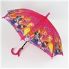 Зонт детский полуавтомат Винкс со свистком №39
