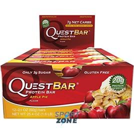 Батончик протеиновый QuestBar Apple Pie (12 шт)