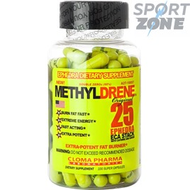 Жиросжигатель METHYLDRENE ECA ORIGINAL 100CAPS CLOMA PHARMA