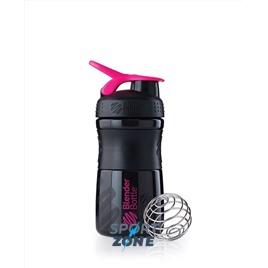 SportMixer 591мл Black/Pink [черный/малиновый]