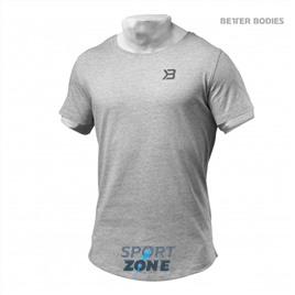Мужская футболка Better Bodies Hudson Tee, Grey Melange