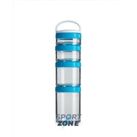 Шейкер для спортивного питания BlenderBottle GoStak голубой