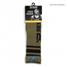 Гольфы Better Bodies Knee Socks, Military Green