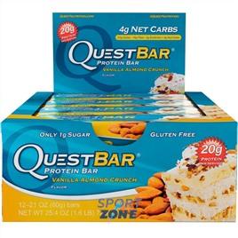 Батончик протеиновый QuestBar Vanilla Almond Crunch (12 шт)