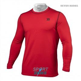 Футболка с длинным рукавом Better Bodies Performance Long Sleeve, Bright Red