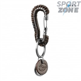 Брелок для ключей GASP Braided Keyclip, Dark Brown