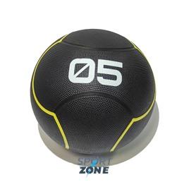 Мяч тренировочный черный 5 кг