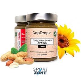 Протеиновая паста DopDrops Подсолнечник Арахис 265г (стевия)