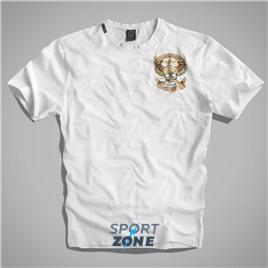 Мужская футболка US WILD & FREE WHITE UNCLE SAM