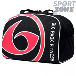 Спортивная сумка SIX PACK FITNESS (SPF) Fox Bowler Black/Red (черный/красный)