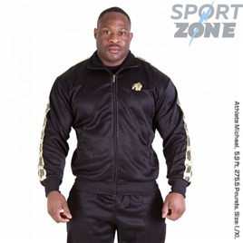 Ветровка GORILLA WEAR TRACK JACKET BLACK/GOLD