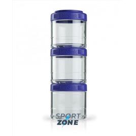 Шейкер для спортивного питания BlenderBottle GoStak фиолетовый