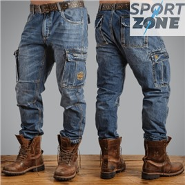 Мужские джинсы US COMBAT CARGO JEANS UNCLE SAM