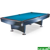 """Бильярдный стол для пула """"Reno"""" 9 ф (черный), интернет-магазин товаров для бильярда Play-billiard.ru"""