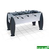 """Настольный футбол (кикер) """"Titan"""" (141x73x82, серебристо-черный), интернет-магазин товаров для бильярда Play-billiard.ru"""