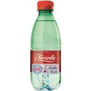 Упаковка минеральной газированной воды Ferrarelle 0,25 в пластике - 24 шт.