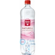 Упаковка Rhon Sprudel Naturell (Рон Шпрудель негазированная) 1л. в пластике - 6 шт.