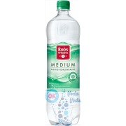 Упаковка Rhon Sprudel Medium (Рон Шпрудель слабогазированная) 1л. в пластике - 6 шт.