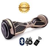 Гироскутер Hoverbot A6 Premium золотой (приложение + Bluetooth-музыка + 3 режима работы + пульт + сумка)