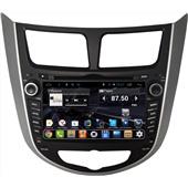 Штатное головное устройство DAYSTAR DS-7011HD Hyundai Solaris 2013+ ANDROID 4.2.2