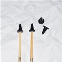 Заглушка для спиц, размер L (4.0-6.5), цвет чёрный, KA Seeknit, 02876