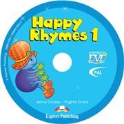 Happy Rhymes 1. DVD видео. (PAL)
