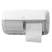 Диспенсер Tork для туалетной бумаги в стандартных рулонах белый, черный
