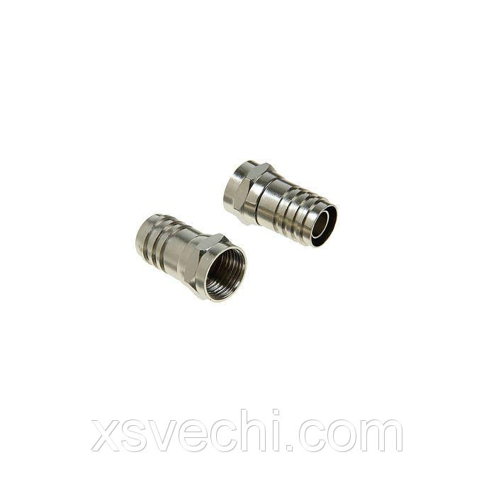 F-разъем Rexant 05-4034-1, RG-6, обжим