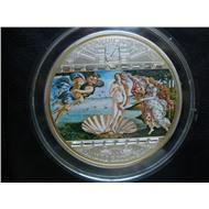 «Рождение Венеры» Сандро Боттичелли (1482 г.) Тираж 1485 шт