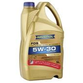 Моторное масло RAVENOL. FDS SAE 5W-30 (5L) АКЦИЯ 4+1